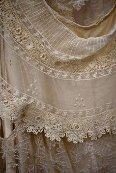 . . . lovely lace  . . . .