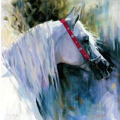 Sally Martin Horse Prints - Distant Gaze (Arabian)