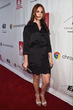 Lana Del Rey at the Grammy Week Event