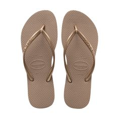 f672efb93c8 37 38 - Rose Gold - Women s Slim Thong Flip Flop Sandal