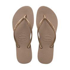 f5133b961 37 38 - Rose Gold - Women s Slim Thong Flip Flop Sandal