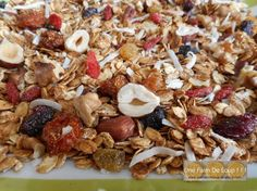 Granola vitalité aux fruits secs http://unefaimdeloup.eklablog.com/granola-vitalite-aux-fruits-secs-a118238196