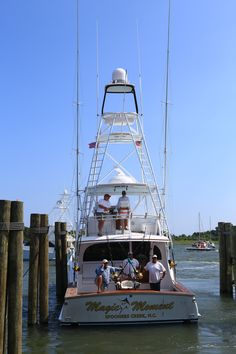 Looking forward to The Big Rock this year! Sea Fishing, Trout Fishing, Saltwater Fishing, Bass Fishing, Fishing Gifts, Fishing Rods, Fishing Boats For Sale, Sport Fishing Boats, Yacht Design