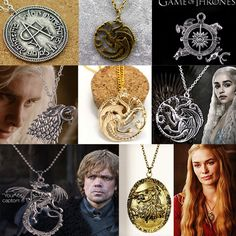 Game of Thrones Targaryen Dragon Inspired Vintage Retro Necklace Pendant Jewelry Online #gamesofthrones #pendants #necklace #jewelry #targaryendragon  Check our site for other amazing piece of jewelry: http://beauty.jewelry/