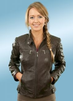 Piper.   Luxury Leather Jacket