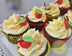 Cupcakes Branca de Neve #snowwhite #mrpinterest #mrpersonalidade