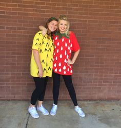 Fruit group day costume diy strawberry pineapple halloween spirit week