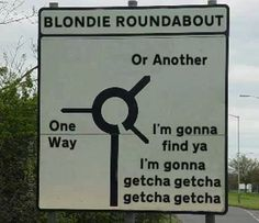 Loooool I for my blonde sister with no sense of direction lol