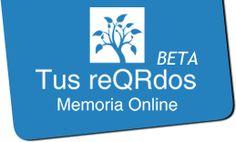 """www.tusreqrdos.com es el sitio donde puedes crear una """"Memoria Online"""" para homenajear y recordar la vida de tus seres queridos. Happy, Create, Memories, Songs, Get Well Soon, Amigos, Recipes, Life"""