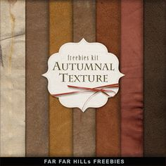 Freebies Kit of Backgrounds - Autumnal Texture