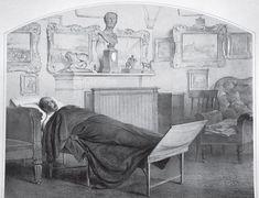 Император Николай I на смертном одре