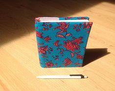 Notzibuch Rezeptbuch Sketchbook Tagebuch mit Stoffcover | Etsy Etsy, Ring Binder, Daily Journal