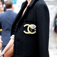 Little black jacket. Chanel style