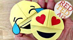 emoji bookmark corner - super simple and fun to make!