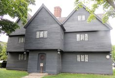 Salem Mass | ... About Life in the 17th Century, The Witch House, Salem Massachusetts