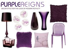 Good Purple Decor For This Fall :)