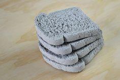 Colossal — Whole wheat concrete coasters