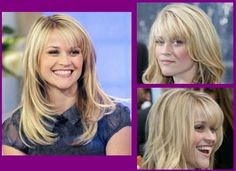Like the bangs and layers from chin up; but not the angle lower down. Simply Hairstyles, Hairstyles With Bangs, Hairstyle Ideas, Unique Faces, Hair Affair, Good Hair Day, Hair Dos, Cut And Color, Hair And Nails