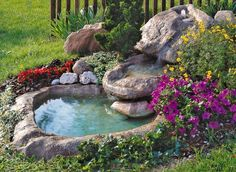 15 Absolutely-Stunning Backyard Water Pond That Will Catch Your Eye In this article, I will try to help you and to give you some inspiration about backyard water pond. I will present you some backyard pond that looks Backyard Water Feature, Ponds Backyard, Backyard Waterfalls, Garden Ponds, Koi Ponds, Large Backyard, Water Pond, Water Garden, Ideas Estanque