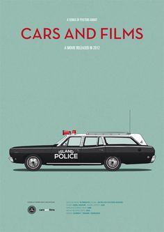 Moonrise Kingdom (2012) ~ Minimal Movie Poster by Jesus Prudencio ~ Cars and Films Series
