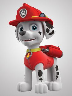 pictures of paw patrol ryder | PAW Patrol Member No.3 Fire-Pup, Marshall