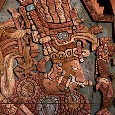 Mayan Art. Not sure where this is from. Any ideas?