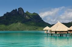 St Regis Bora Bora Resort - I have wanted to go to Tahiti for the past 35 years. I will go there someday.