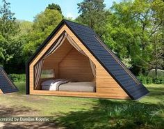 game-ready glamping unit model Ready-to-play model of the glamping unit Salish from West Coast Homes – house idea bathroom old model house Adorbs Tiny Homes – Tiny Cabins, Tiny House Cabin, Tiny House Design, Cabin Homes, A Frame Cabin, A Frame House, Glamping, Play Houses, Pergola
