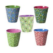Rice dk Melamine Cups Two Tone