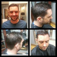 www.CLhairartstudio.com Mens Haircut with Clippers Fade #haircuts #hair #menshair #clippercut #charlotte
