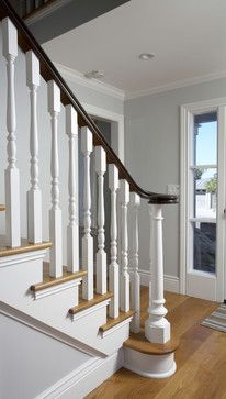 tiburon home remodel - traditional - staircase - san francisco - Mahoney Architects & Interiors