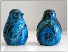 Ceramic Blue Birds