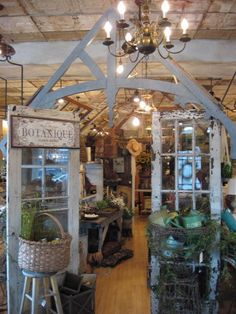Retail Display by CuriousSofa.com Garden shed built by Donny Volkart, Spring 2008