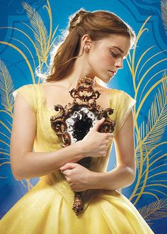 """Emma Watson as 'Belle' in Disney's Beauty and the Beast (2017) """