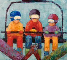 """Rebecca Kinkead: """"Chairlift"""""""