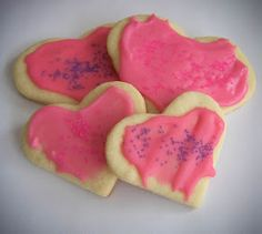 The D.I.Y. Dreamer: Valentine Cookies!!!