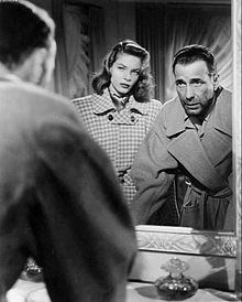 Film Noir, Humphrey Bogart and Lauren Bacall in Dark Passage (Delmer Daves, Humphrey Bogart, Lauren Bacall, Hollywood Couples, Old Hollywood Stars, Classic Hollywood, Bogie And Bacall, Dark City, Great Love Stories, Classic Movies