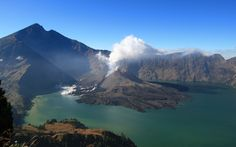 Reaching the summit of Gunung Rinjani on Lombok takes in Forest, rocky peaks and a dramatic crater lake
