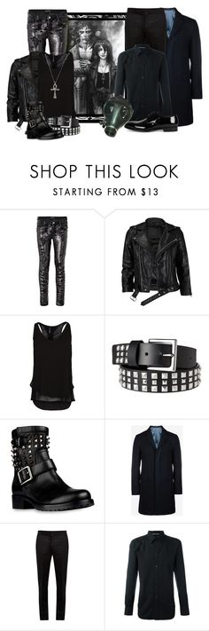 """""""Contest: Peas in a Pod/DC: Sandman Comics"""" by harleypool ❤ liked on Polyvore featuring Marciano, VIPARO, MANGO, Xhilaration, Valentino, Ted Baker, Maison Margiela, Alexander McQueen, Dolce&Gabbana and GAS Jeans"""