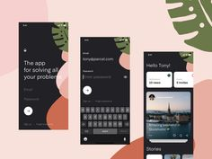 Mason - App templates designed by Lucie Bajgart. Connect with them on Dribbble; the global community for designers and creative professionals. Web Design, Graphic Design, Flat Design, Design Layouts, Interface Design, User Interface, Pattern App, Mobiles, Design Responsive