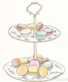 Shell Sherree: Francophile Friday: Macarons Take a Stand