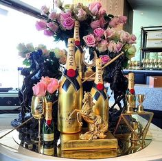 Happy Birthday Wishes Cards, Birthday Wishes And Images, Happy Birthday Flower, Birthday Cheers, Baby Birthday, Happy Aniversary, Mens Valentines Gifts, Champagne Party, Moet Chandon