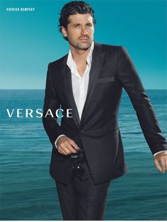 Hair, Eyes, Suit, Face (what category do I put him in?) did I say eyes...they are so captivating...oh, let's not forget the Versace. Sure its probably the glasses.