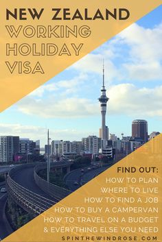 Planning your New Zealand Working Holiday? Visit this page of my blog for all the information you'll need, as I share my experience on a New Zealand Working Holiday Visa for over a year! Here you can find out how to prepare, where to live, how to find a job, how to buy a campervan, how to travel on a budget and everything else. NZ WHV | Auckland, Wellington, North Island and South Island | Wanderlust and Inspiration | Useful Tips and Ultimate Guide