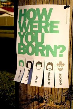 So....Which one were you born to do?