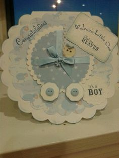 New baby card . Annh