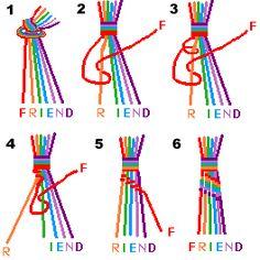 Vriendschapsbandjes maken. - Plazilla.com