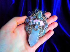 Equanimous Heart  Morganite Pink Kunzite Rose by MultiverseWithin