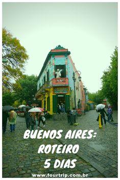 Roteiro de 5 dias em Buenos Aires, incluindo bate e volta a Colonia del Sacramento no Uruguai. #buenosaires #argentina #roteirobuenosaires #viagem