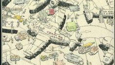Mattias Adolfsson 創造素描本裡的細緻世界  一支筆、一些顏料、一本素描本,能創造的想像世界是如此細膩以及生動可愛。插畫家Mattias Adolfsson 在素描本上畫上一幅又一幅的精采插畫作品。
